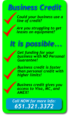 business credit banner